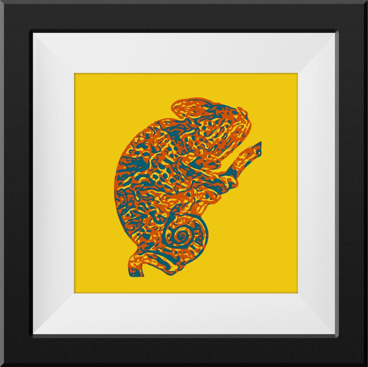 The Chameleon |16X16