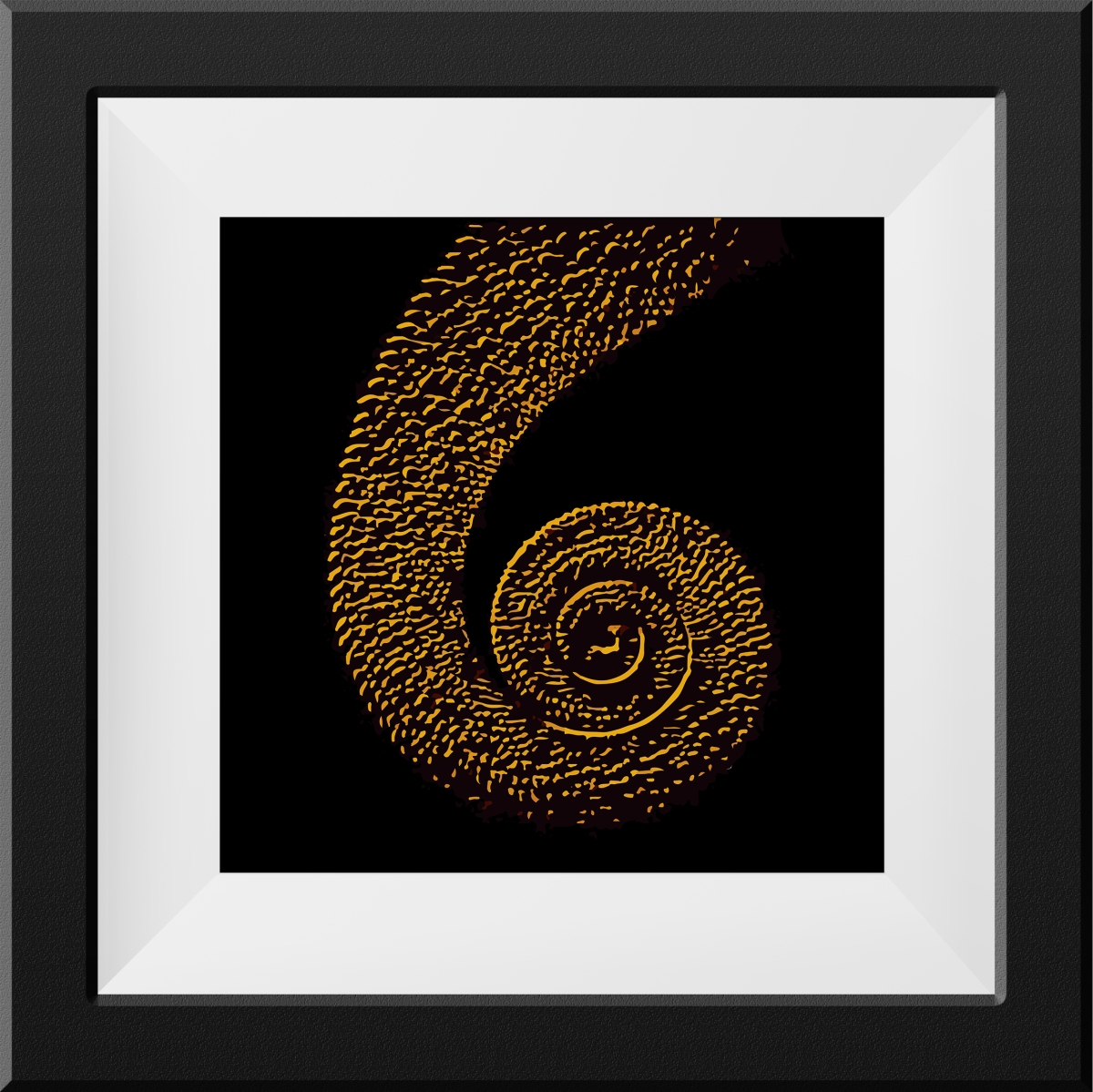 The Chameleon tail  | 24″X24″