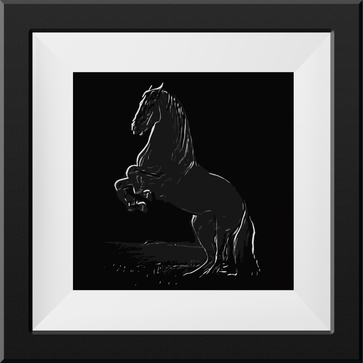 Galloping  Horse | 16X16